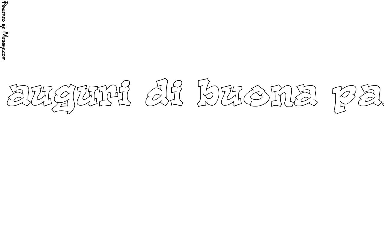 Disegno Per Bambini Auguri Di Buona Pasqua 13685 Da Stampare E Colorare