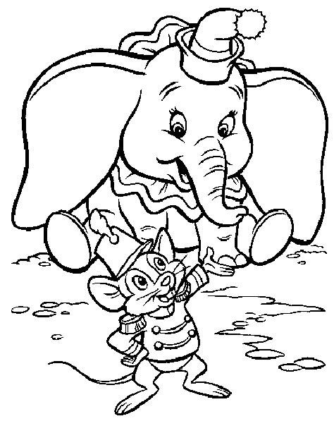 Disegno Dumbo 4