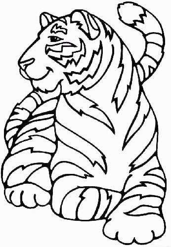 Disegno Felini Tigri Leoni 18