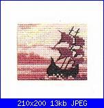Permin of Copenhagen - Miniature - schemi e link-14-2328-schooner-jpg