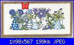 Permin of Copenhagen - schemi e link-permin-15-5187-blue-flowers-jpg