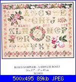 DMC - Schemi e link-dmc-xc0855-roses-sampler-jpg