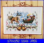 Permin of Copenhagen - Natale - schemi e link-70-0225-advent-kalende-santa-claus-church-jpg
