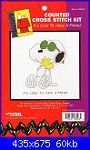 Leisure Arts - schemi e link-la-028003-peanuts-its-cool-tohave-friend-%3D-jcs-28003-jpg