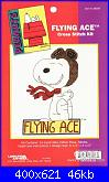 Leisure Arts - schemi e link-la-028006-peamuts-flying-ace-%3D-jcs-28006-jpg