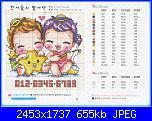 SODA - Giapponesi-Coreani: bambini singoli  - schemi e link-20068703031665-jpg