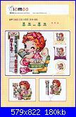 SODA - Giapponesi-Coreani: bambini singoli  - schemi e link-10moo-s19-585-01-jpg