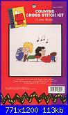 Leisure Arts - schemi e link-la-028004-peanuts-i-love-music-%3D-jcs-28004-jpg