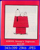Leisure Arts - schemi e link-la-028009-peanuts-snoopys-dog-house-%3D-jcs-28009-jpg