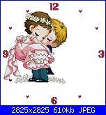 SODA - Giapponesi-coreani: sposi - schemi e link-sposi-orologio-21-jpg