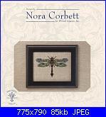 Mirabilia -  Nora Corbett - schemi e link-nc-101-emerald-dragonfly-jpg