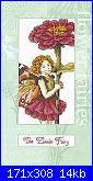 DMC - The Flower Fairies (Cicely Mary Barker) - schemi e link-dmc-k4561-zinnia-fairy-jpg