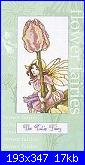 DMC - The Flower Fairies (Cicely Mary Barker) - schemi e link-dmc-k4558-tulip-fairy-jpg
