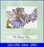 DMC - The Flower Fairies (Cicely Mary Barker) - schemi e link-chicory-fairy-jpg