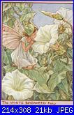 DMC - The Flower Fairies (Cicely Mary Barker) - schemi e link-dmc-pc25-white-bindweed-fairy-jpg