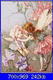 DMC - The Flower Fairies (Cicely Mary Barker) - schemi e link-sweet-pea-foto-1-jpg