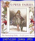 DMC - The Flower Fairies (Cicely Mary Barker) - schemi e link-bl098-snowdrop-fairy-jpg