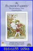 DMC - The Flower Fairies (Cicely Mary Barker) - schemi e link-strawberry-fairy-jpg