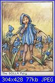 DMC - The Flower Fairies (Cicely Mary Barker) - schemi e link-scilla-fairy-jpg