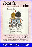 DMC - Love is ... - L'amore è ... - schemi e link-1-jpg