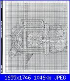 Country Companions - schemi e link-k2813_grandfather-clock1-jpg