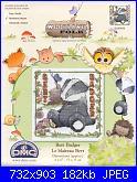 DMC Woodland Folk - schemi e link-bert-badger-01-jpg