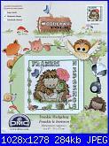 DMC Woodland Folk - schemi e link-dmc-bl-943-frankie-hedgehog-jpg