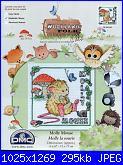 DMC Woodland Folk - schemi e link-dmc-bl-940-wf-molly-mouse-jpg
