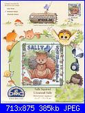 DMC Woodland Folk - schemi e link-sally-squirrel-01-jpg