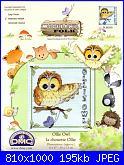 DMC Woodland Folk - schemi e link-ollie-owl-01-jpg