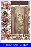 Carriage House Samplings - schemi e link-chs-sampler-stocking-jpg
