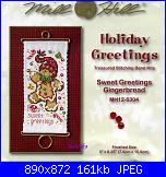 Mill Hill  - schemi e link-mill-hill-mh12-6304-sweet-greetings-gingerbread-1-jpg