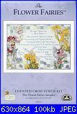 DMC - The Flower Fairies (Cicely Mary Barker) - schemi e link-dmc-k4576-flower-fairies-sampler-jpg