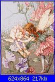 DMC - The Flower Fairies (Cicely Mary Barker) - schemi e link-dmc-pc-15-sweet-pea-fairies-jpg