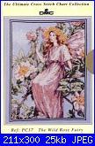 DMC - The Flower Fairies (Cicely Mary Barker) - schemi e link-dmc-pc-17-wild-rose-fairy-jpg