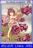 DMC - The Flower Fairies (Cicely Mary Barker) - schemi e link-dmc-pc-102-canterbury-bell-fairy-jpg