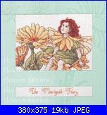 DMC - The Flower Fairies (Cicely Mary Barker) - schemi e link-dmc-k4556-marigold-fairy-jpg