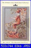 DMC - The Flower Fairies (Cicely Mary Barker) - schemi e link-dmc-pc-18-mountain-ash-fairy-jpg