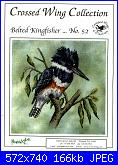 Crossed Wing Collection - schemi e link-crossed-wing-collection-n-52-belted-kingfisher-jpg