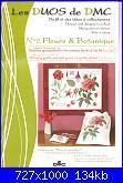 DMC - Les DUOS - schemi e link-dmc-14561a-les-duos-fleurs-botanique-rose-et-coquelicot-jpg