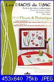 DMC - Les DUOS - schemi e link-dmc-14561b-les-duos-fleurs-botanique-tulipe-et-cyclamen-jpg