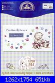 DMC - Lickle Ted -  schemi e link-lickle-reading-sampler-1-jpg