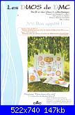 DMC - Les DUOS - schemi e link-dmc-les-duos-n-6-bon-appetit-pique-nique-entre-amis-2010-jpg