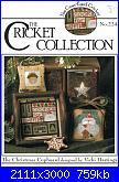 The Cricket Collection -  schemi e link-cricket-collection-224-christmas-cupboard-jpg