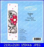 Anchor - Tatty Teddy - Schemi e link-tt2002-tatty-flower-hug-bookmark-jpg