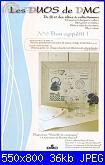 DMC - Les DUOS - schemi e link-dmc-les-duos-n-6-bon-appetit-vaisselle-de-campagne-2010-jpg