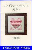 Atalie- schemi e link-le-couer-atalie-rubis-jpg