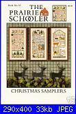 The Prairie Schooler - schemi e link-prairie-schooler-63-christmas-samplers-jpg