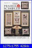 The Prairie Schooler - schemi e link-prairie-schooler-73-christmas-samplers-ii-jpg