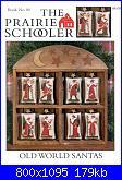 The Prairie Schooler - schemi e link-prairie-schooler-80-old-world-santas-jpg